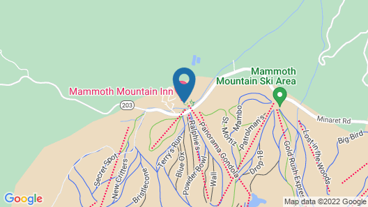 Mammoth Mountain Inn Map