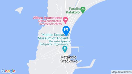 EpiHotel Odysseas Map
