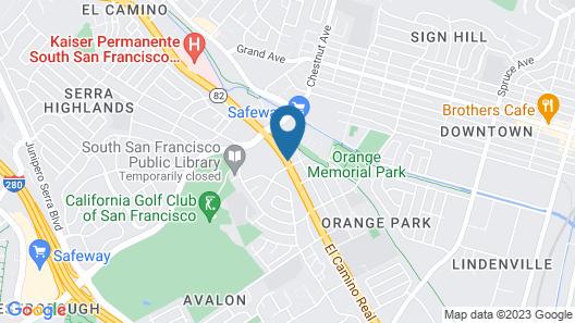 Deluxe Inn Map