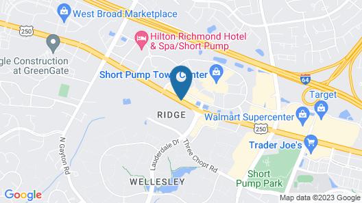 HYATT house Richmond-West Map