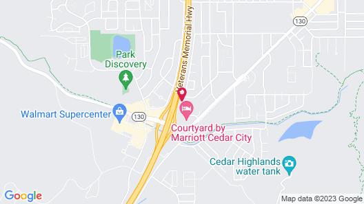 Courtyard Cedar City Marriott Map