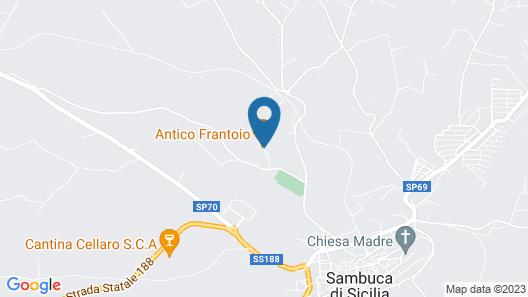 B&B Antico Frantoio Map