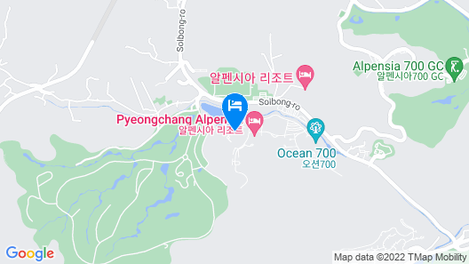Holiday Inn Resort Alpensia Pyeongchang, an IHG Hotel Map