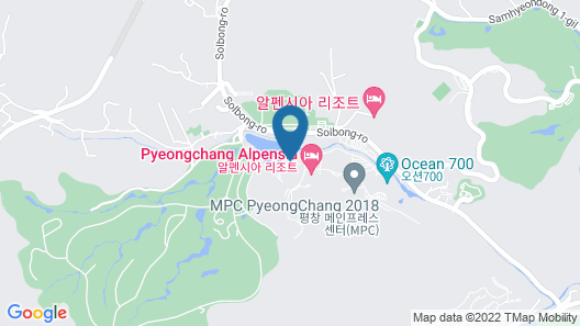 Holiday Inn Alpensia Pyeongchang Suites, an IHG Hotel Map