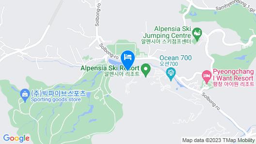 Holiday Inn Alpensia Pyeongchang Suites, an IHG Hotel Map