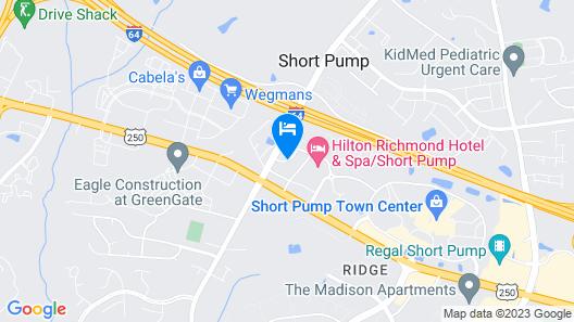Wingate by Wyndham Richmond Short Pump Map