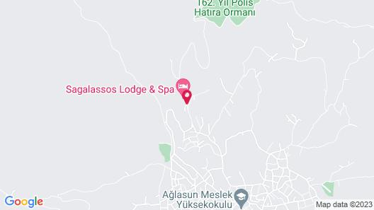 Sagalassos Lodge & Spa Map