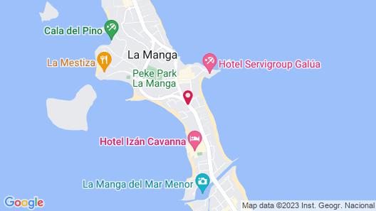 Aparthotel Villas La Manga Map