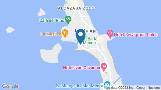 Inmovecos Bahía de las Palmeras 71 Map