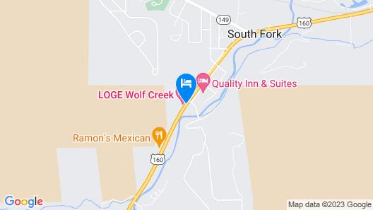 Wolf Creek Ski Lodge Map