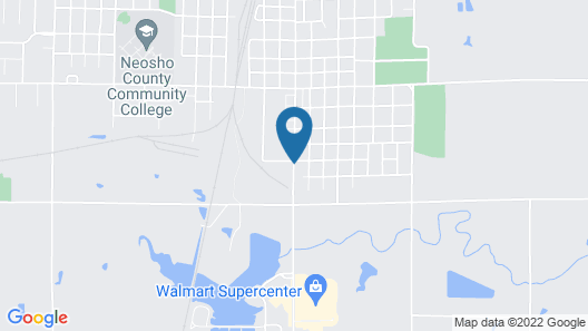 Guest House Motel Map