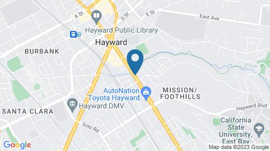 Days Inn & Suites by Wyndham Hayward Map