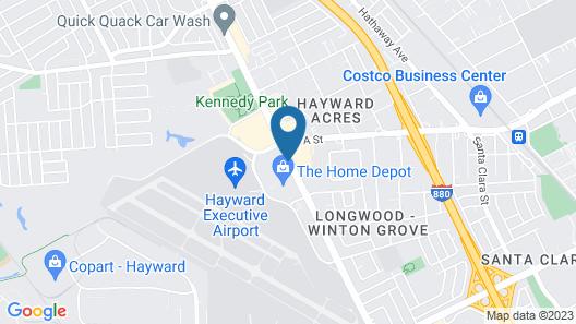 La Quinta Inn & Suites by Wyndham Oakland - Hayward Map