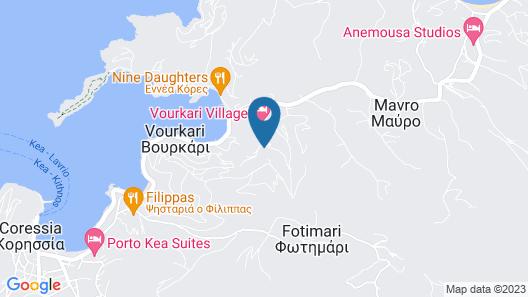 Aigis Suites Map