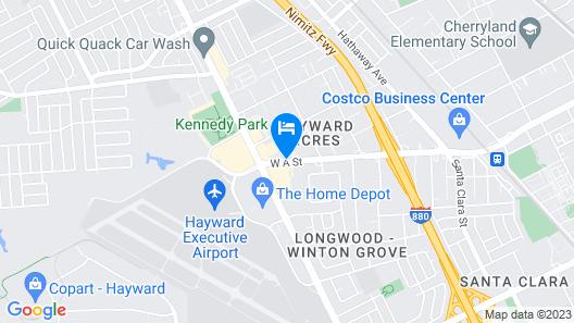 Rodeway Inn & Suites Map