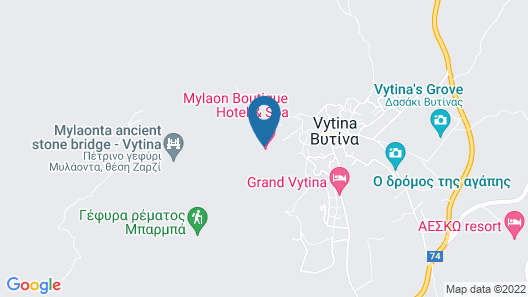 Mylaon Boutique Hotel & Spa Map