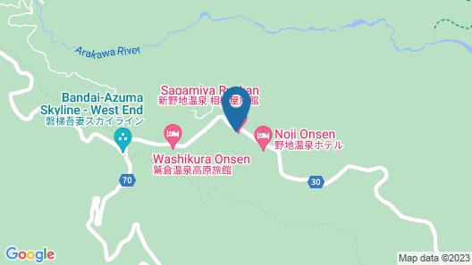 Shinnoji Onsen Sagamiya Ryokan Map