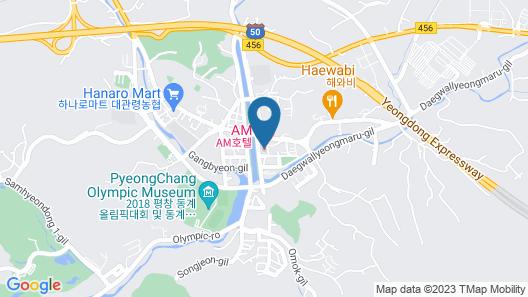 AM HOTEL Map