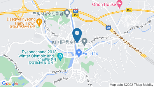 Pyeongchang Hotel The Maru Map