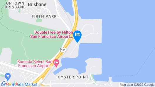 Homewood Suites by Hilton San Francisco Airport North Map