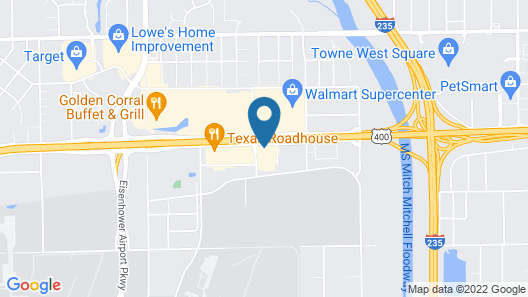 Holiday Inn Express & Suites Wichita Airport, an IHG Hotel Map