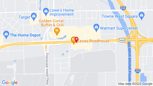Springhill Suites Wichita Airport Map