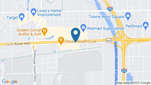 La Quinta Inn & Suites by Wyndham Wichita Airport Map