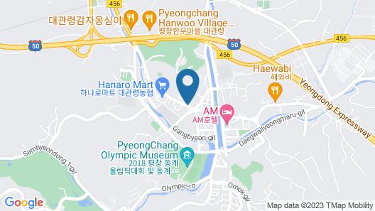 Goodstay Daegwallyeongsanbang Map
