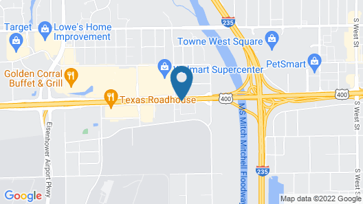 Ramada by Wyndham Wichita Airport Map