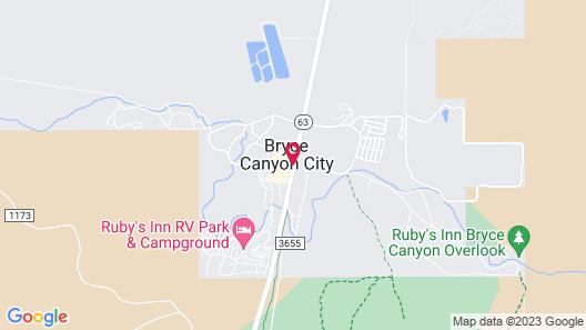 Best Western Plus Ruby's Inn Map