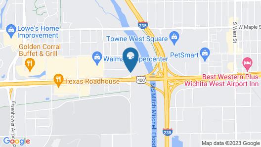 Wichita Inn Map