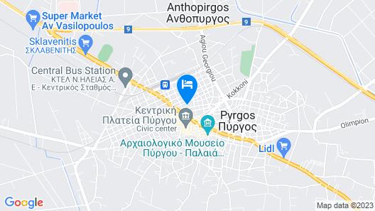 Anagennisis Hotel Map