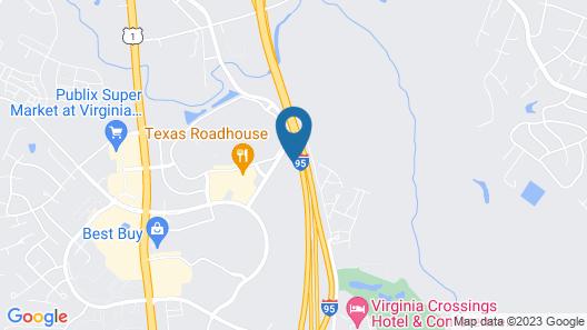 Candlewood Suites Richmond North Glen Allen, an IHG Hotel Map