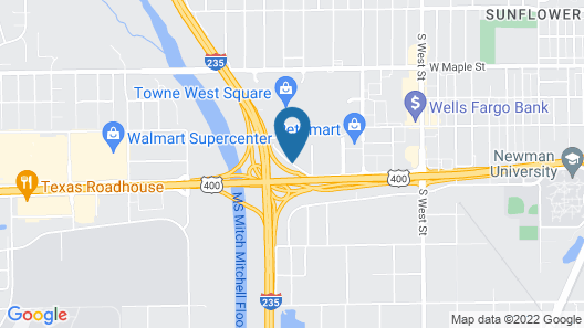 Quality Suites Airport Map