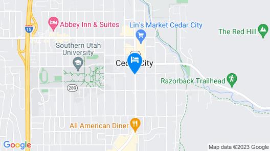 Baymont by Wyndham Cedar City Map