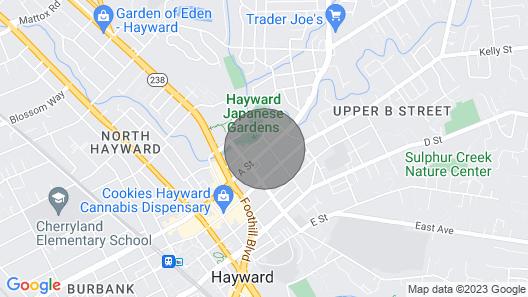 Hayward Vacation Haven Map