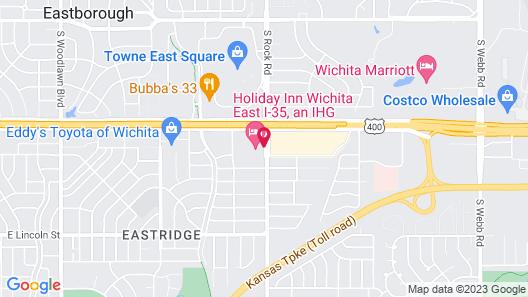 Holiday Inn Wichita East I-35, an IHG Hotel Map