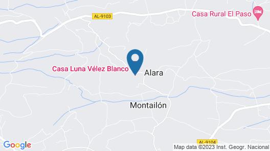 B&B Casa Luna Map