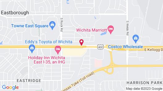 Best Western Plus Eastgate Inn & Suites Map
