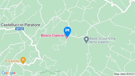 Bosco Ciancio Map