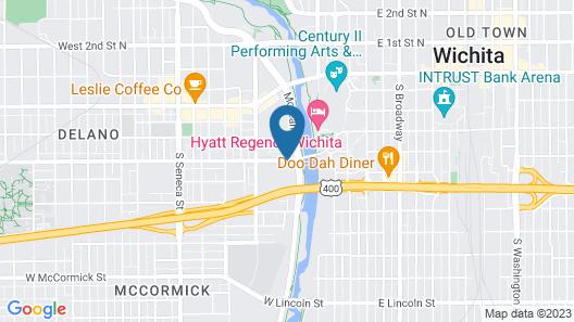 WaterWalk Wichita Map