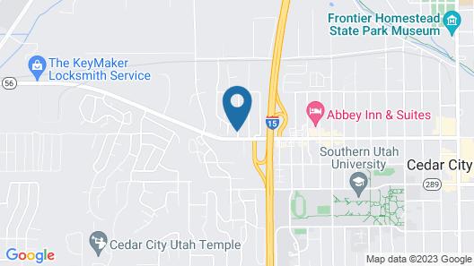 Motel 6 Cedar City, UT Map