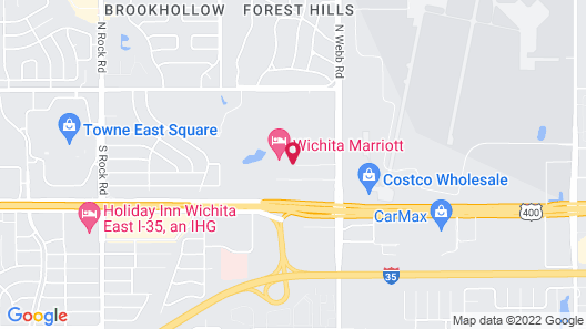 Marriott Wichita Map