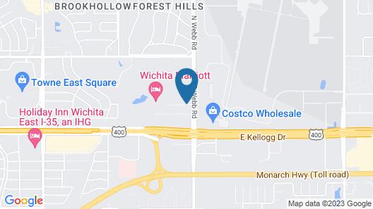 Comfort Inn East Map
