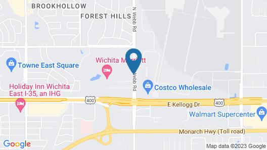 Country Inn & Suites by Radisson, Wichita East, KS Map