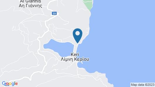 Pansion Limni Map