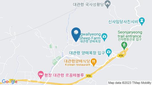 Daegwallyeong Sheep Village Pension Map