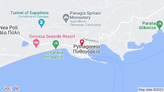 Doryssa Seaside Resort Map