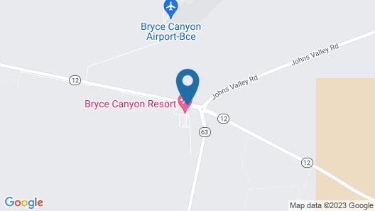 Bryce Canyon Resort Map
