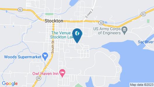 Cabins At Stockton Lake Map